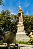 Wright Square Savannah Royalty Free Stock Image