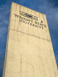 Wright State University dans le sud-ouest Ohio Photographie stock libre de droits