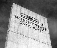 Wright State University i Ohio royaltyfria foton