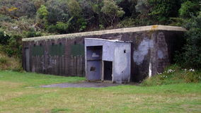 Wrights Hill gun emplacement Buildings Stock Photography