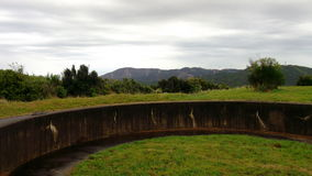 Wrights Hill gun emplacement Royalty Free Stock Photo