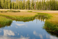 Wrights Lake Channel Stock Image