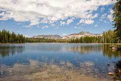 Wrights Lake scenic  Royalty Free Stock Photography