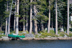 Wrights lake shoreline scenic Stock Images
