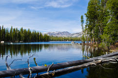 Wrights Lake Stock Photo