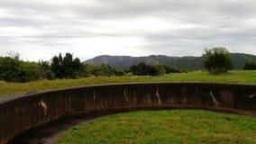 Wrights wzgórza armatni emplacement Zdjęcie Royalty Free