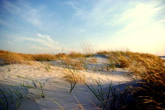 Wrightsville Dunes at sunset Royalty Free Stock Image