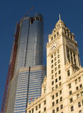 Wrigley Building Royalty Free Stock Image