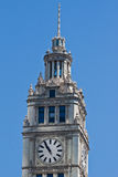 The Wrigley Building in Chicago Stock Photo