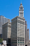 The Wrigley Building in Chicago Stock Images