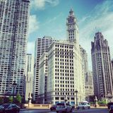 Wrigley Building Stock Images