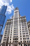 Wrigley Building Royalty Free Stock Photography