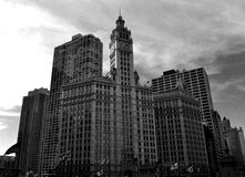 Wrigley Building Stock Photography