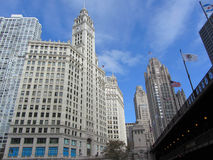 Wrigley Building Stock Photo