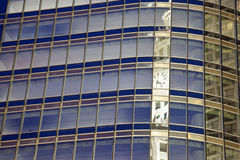 Wrigley Builidng reflected in Trump Tower Royalty Free Stock Photos
