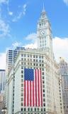 Wrigley byggnad på September 11 Arkivbild