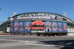 Wrigley coloca Chicago Fotografia de Stock