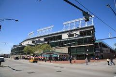 Wrigley coloca - Chicago Cubs Imagens de Stock Royalty Free