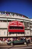 Wrigley Field, Чiкаго, IL Стоковые Фото