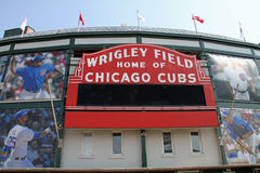 Wrigley Field Royalty Free Stock Photos