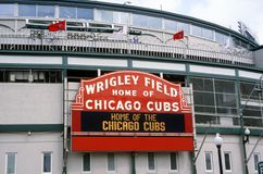 Wrigley Field Stock Photo