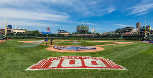 Wrigley Field Royalty Free Stock Image