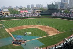 Wrigley Field, Chicago Stock Photography