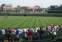 Wrigley Field, Chicago Stock Images