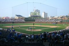 Wrigley Field, Chicago Stock Photos