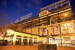 Wrigley Field in Chicago Stock Photos