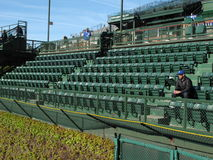 Wrigley Field - Chicago Cubs Stock Photo