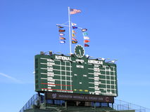 Wrigley Field - Chicago Cubs Royalty Free Stock Photo