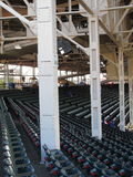Wrigley Field - Chicago Cubs. Obstructed seating at the Cubs old time home ballpark Stock Photography