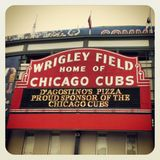 Wrigley Field Chicago Cubs Stock Image