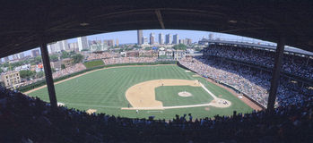 Wrigley Field, Chicago, Cubs v. Rockies, Illinois Royalty Free Stock Photos