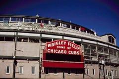 Wrigley Field, Chicago, IL Stock Image