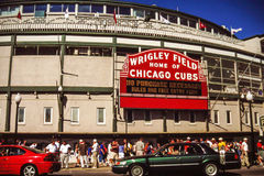 Wrigley Field, Chicago, IL Royalty Free Stock Photo