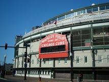Wrigley Field Chicago stock photos