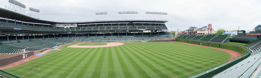 Wrigley Field Home of the Chicago Cubs Stock Image
