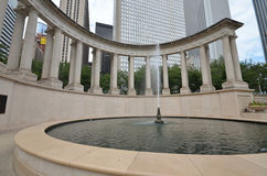 Wrigley Fountain Stock Images