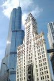 Wrigley-Gebäude Stockfotografie