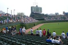 Wrigley Gebied, Chicago Stock Foto