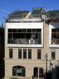 Wrigley Gebied - de Zetels van het Dak Stock Fotografie