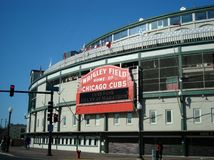 Wrigley mettent en place Chicago photos stock