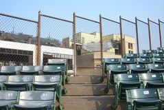 Wrigley mettent en place - Chicago Cubs Photo libre de droits