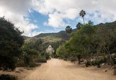 Wrigley ogródy botaniczni na Catalina wyspie i pomnik zdjęcie royalty free