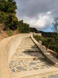 Wrigley ogródy botaniczni na Catalina wyspie i pomnik zdjęcie stock