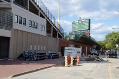 Wrigley Rennovations-Sheffield I photo libre de droits