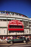 Wrigley sistema, Chicago, IL Fotografie Stock
