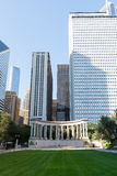 Wrigley Square in Millenium Park Royalty Free Stock Image